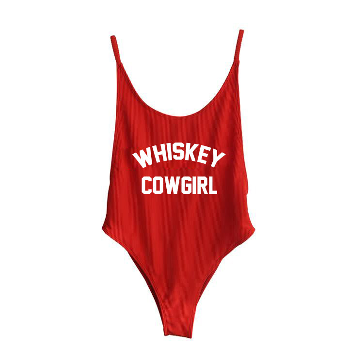 WHISKEY COWGIRL [BALI SWIMSUIT]