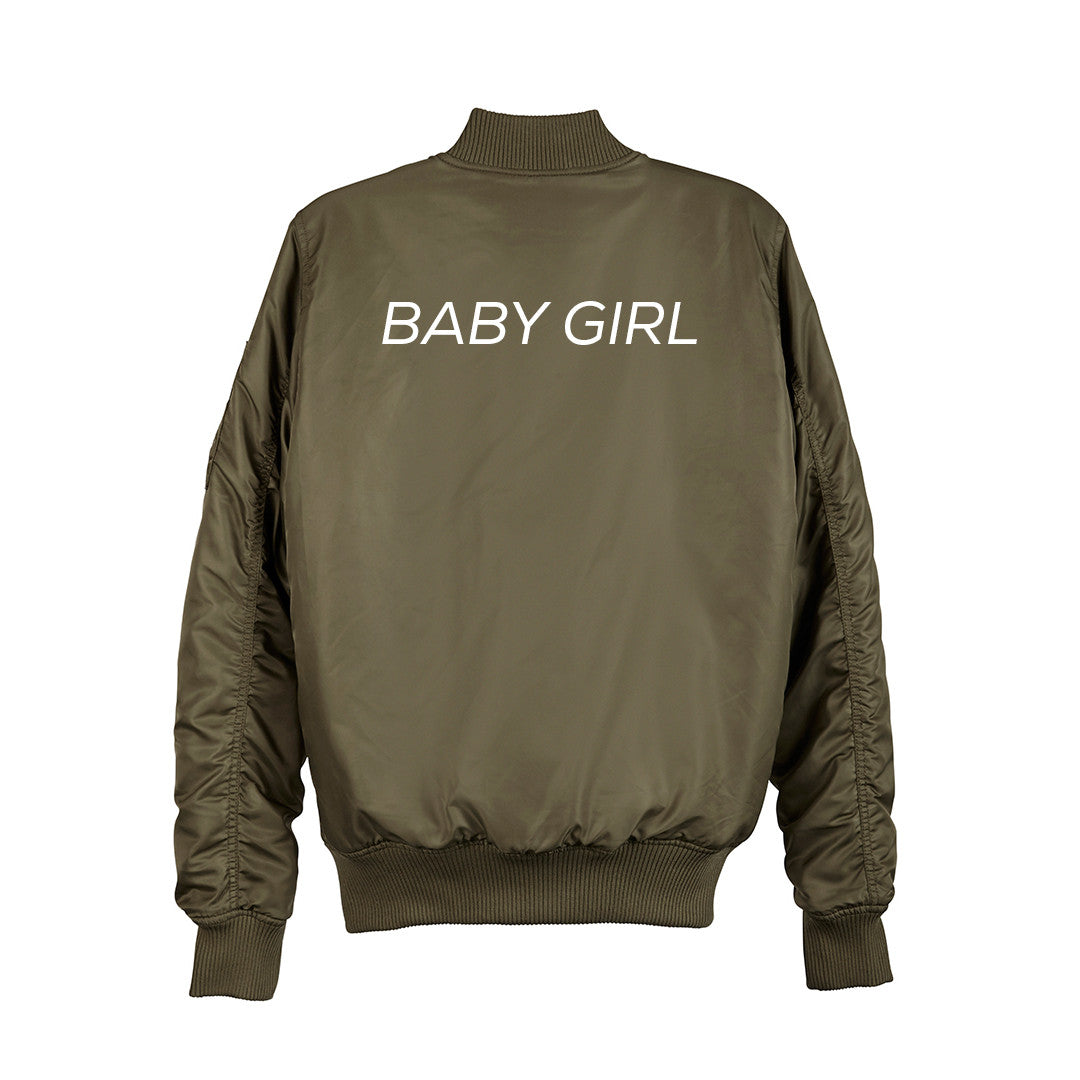 f8d87baff BABY GIRL BOMBER [UNISEX] | PRIVATE PARTY