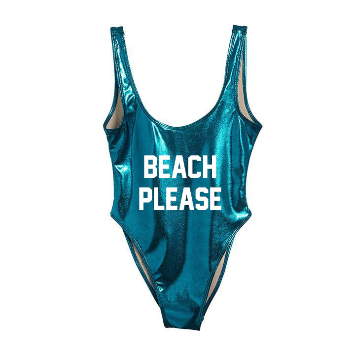 BEACH PLEASE [SWIMSUIT]