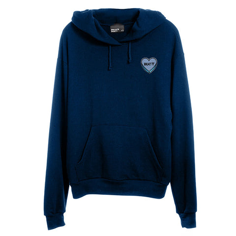 BEAT IT HEART PATCH [UNISEX HOODIE]