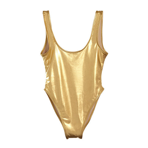METALLIC GOLD [BLANK SWIMSUIT]
