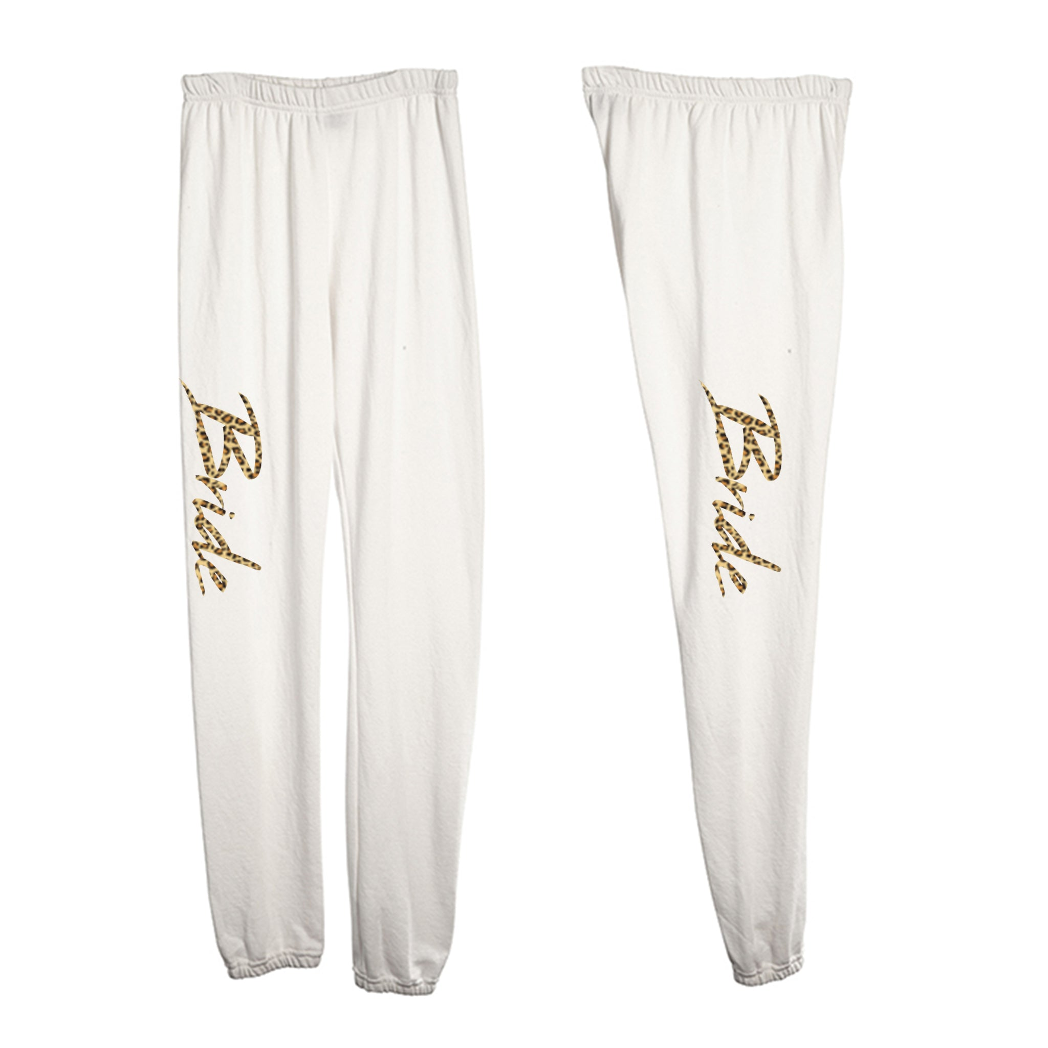 BRIDE W/ CHEETAH TEXT [WOMEN'S SWEATPANTS]
