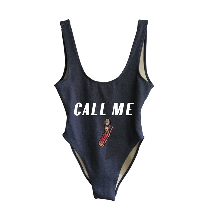 CALL ME [SWIMSUIT W/ PHONE PATCH]