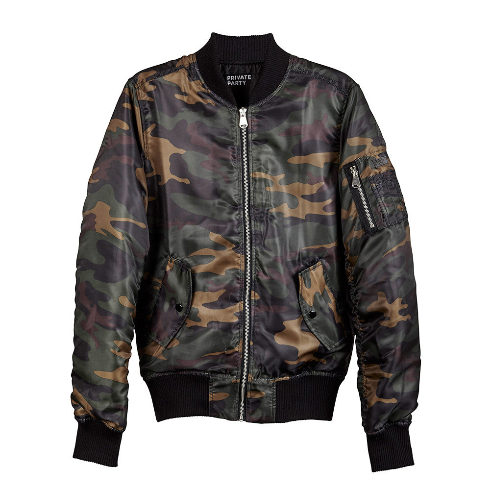 CHAMPAGNE CAMPAIGN BOMBER [UNISEX]