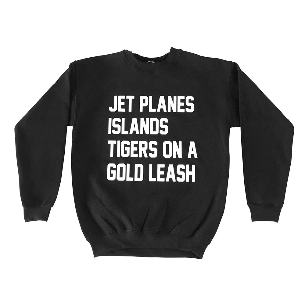 JET PLANES ISLANDS TIGERS ON A GOLD LEASH