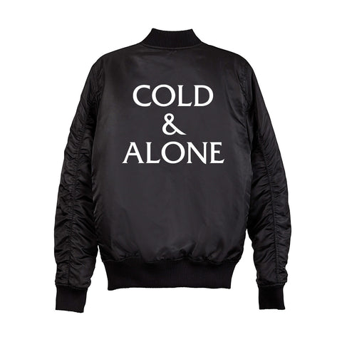 COLD & ALONE BOMBER [UNISEX]