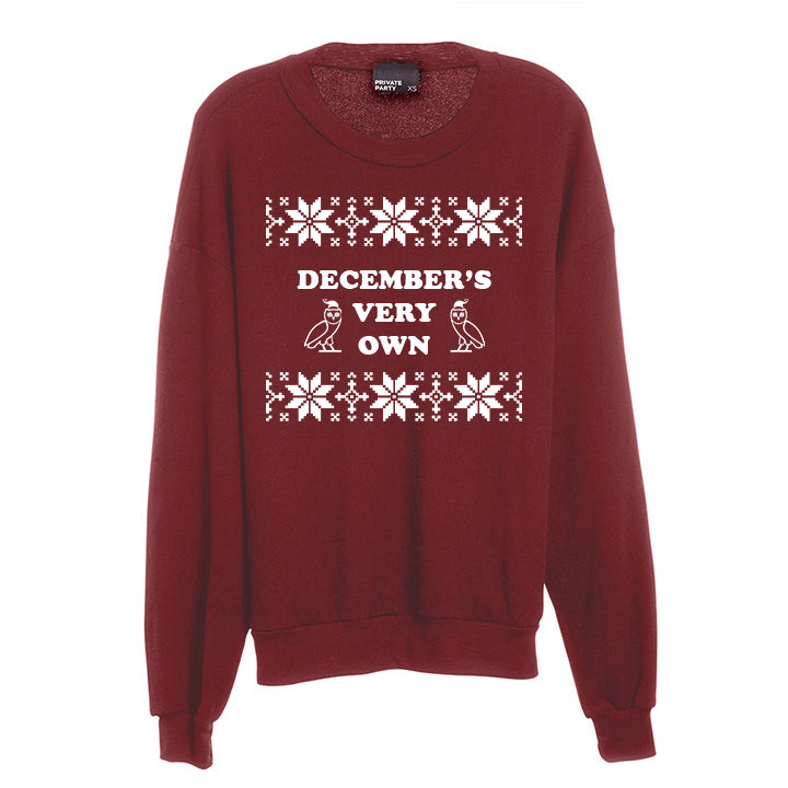 DECEMBER'S VERY OWN [UNISEX CREWNECK SWEATSHIRT]