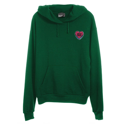 DROP DEAD HEART PATCH [UNISEX HOODIE]