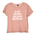 EAT SLEEP BEACH REPEAT [DISTRESSED WOMEN'S 'BABY TEE']