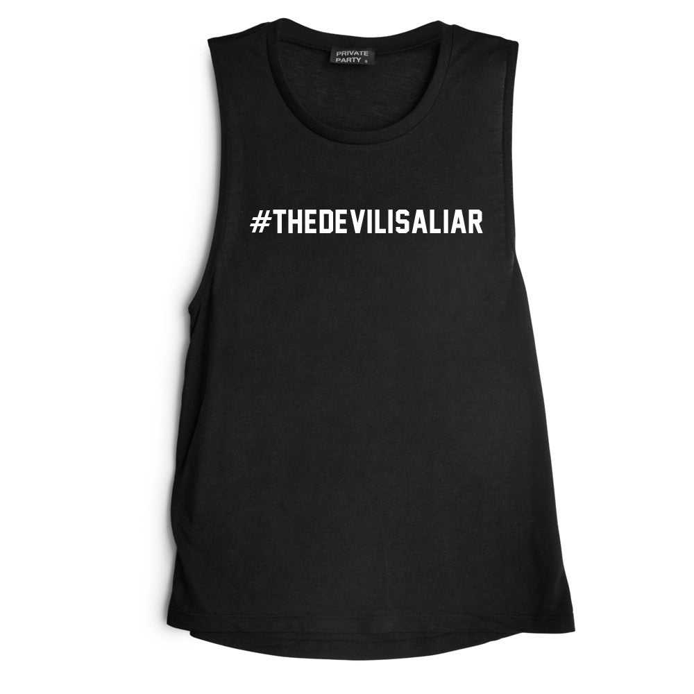 #THEDEVILISALIAR [MUSCLE TANK]