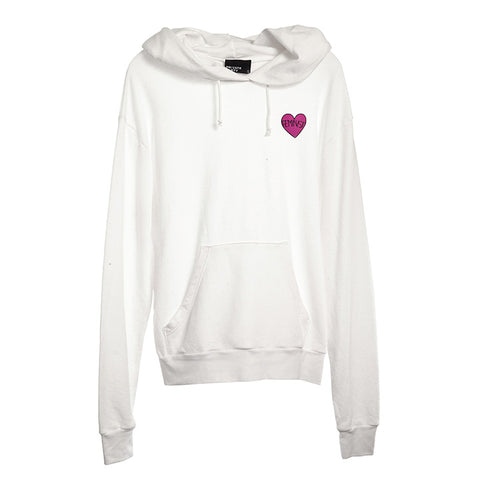 FEMINIST HEART PATCH [UNISEX HOODIE]