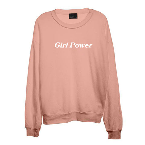 GIRL POWER [UNISEX CREWNECK SWEATSHIRT]