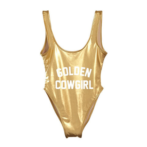 GOLDEN COWGIRL [SWIMSUIT]