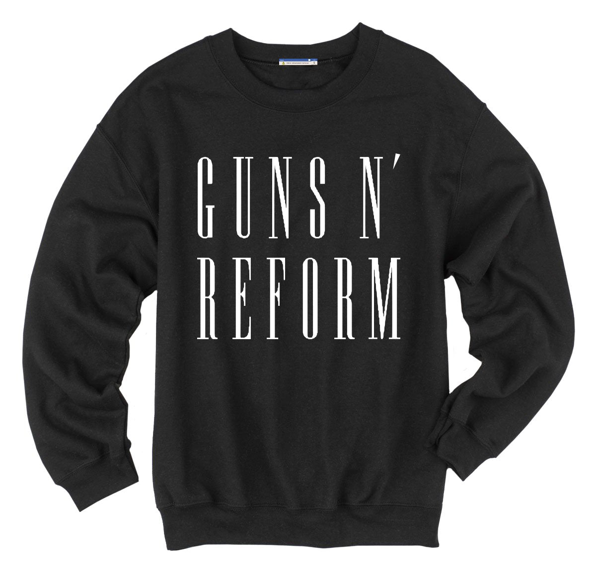GUNS N' REFORM FLEECE CREW