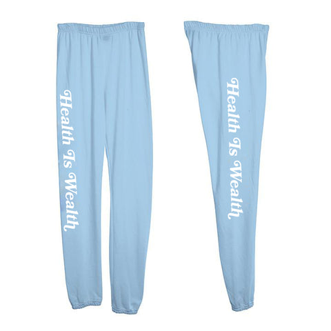 HEALTH IS WEALTH [WOMEN'S SWEATPANTS]