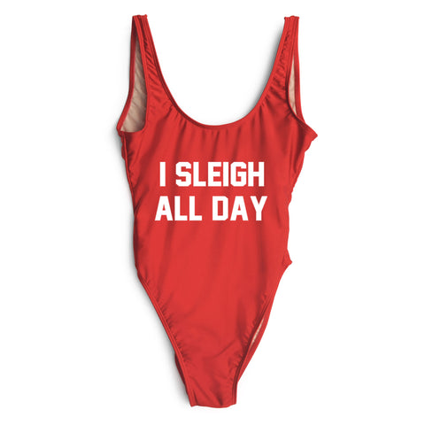 I SLEIGH ALL DAY [SWIMSUIT]