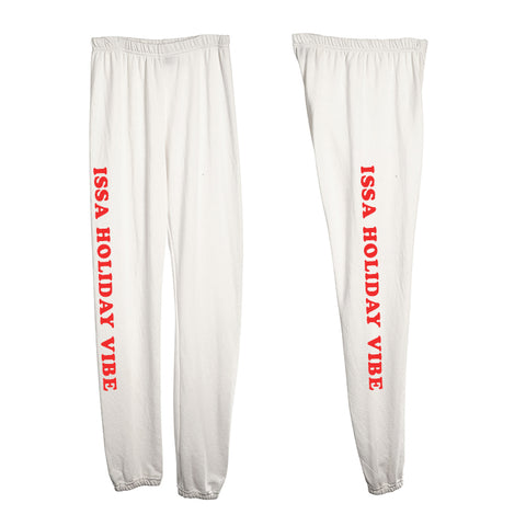 ISSA HOLIDAY VIBE [WOMEN'S SWEATPANTS]