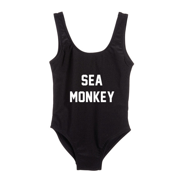 SEA MONKEY [KIDS ONE PIECE SWIMSUIT]