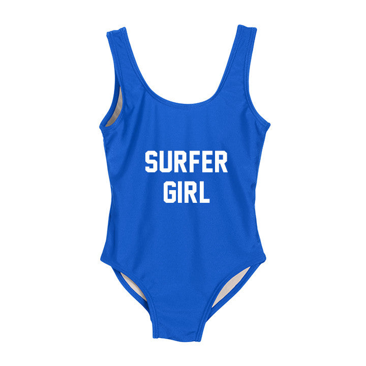 SURFER GIRL [KIDS ONE PIECE SWIMSUIT]