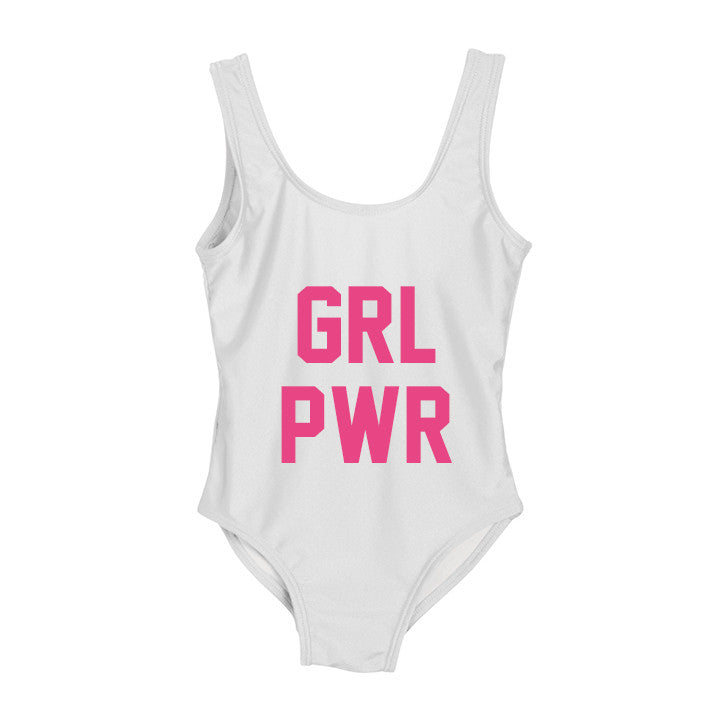 4be4fda4a6 GRL PWR [KIDS ONE PIECE SWIMSUIT] | PRIVATE PARTY