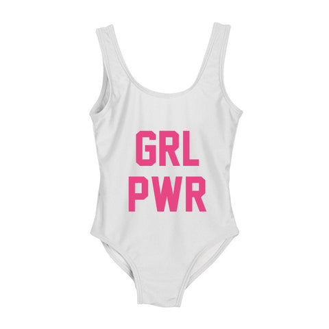 GRL PWR [KIDS ONE PIECE SWIMSUIT]