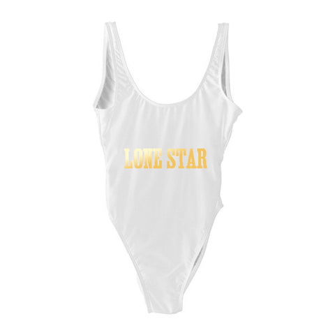 LONE STAR [SWIMSUIT W/ GOLD TEXT]