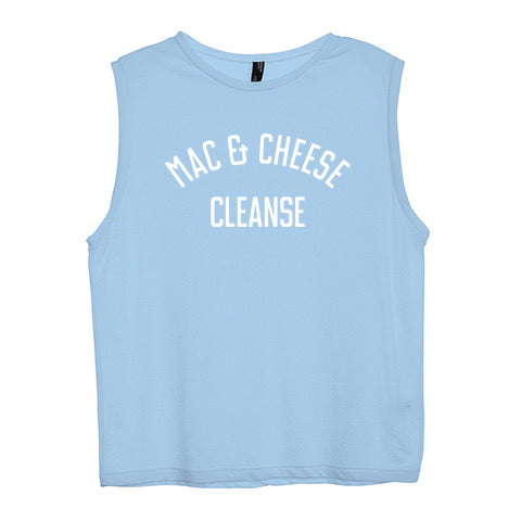 MAC & CHEESE CLEANSE [WOMEN'S MUSCLE TANK]