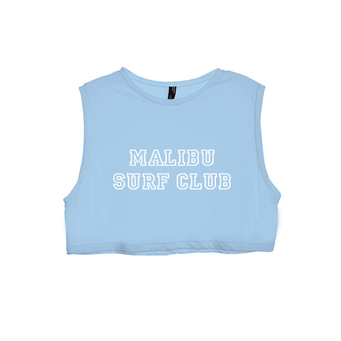MALIBU SURF CLUB [WOMEN'S CROP TANK]