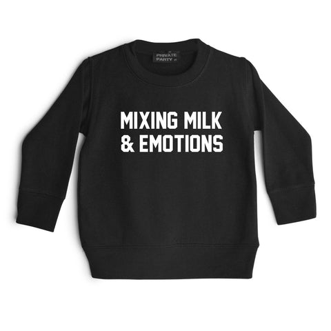 MIXING MILK & EMOTIONS [TODDLER SWEATSHIRT]
