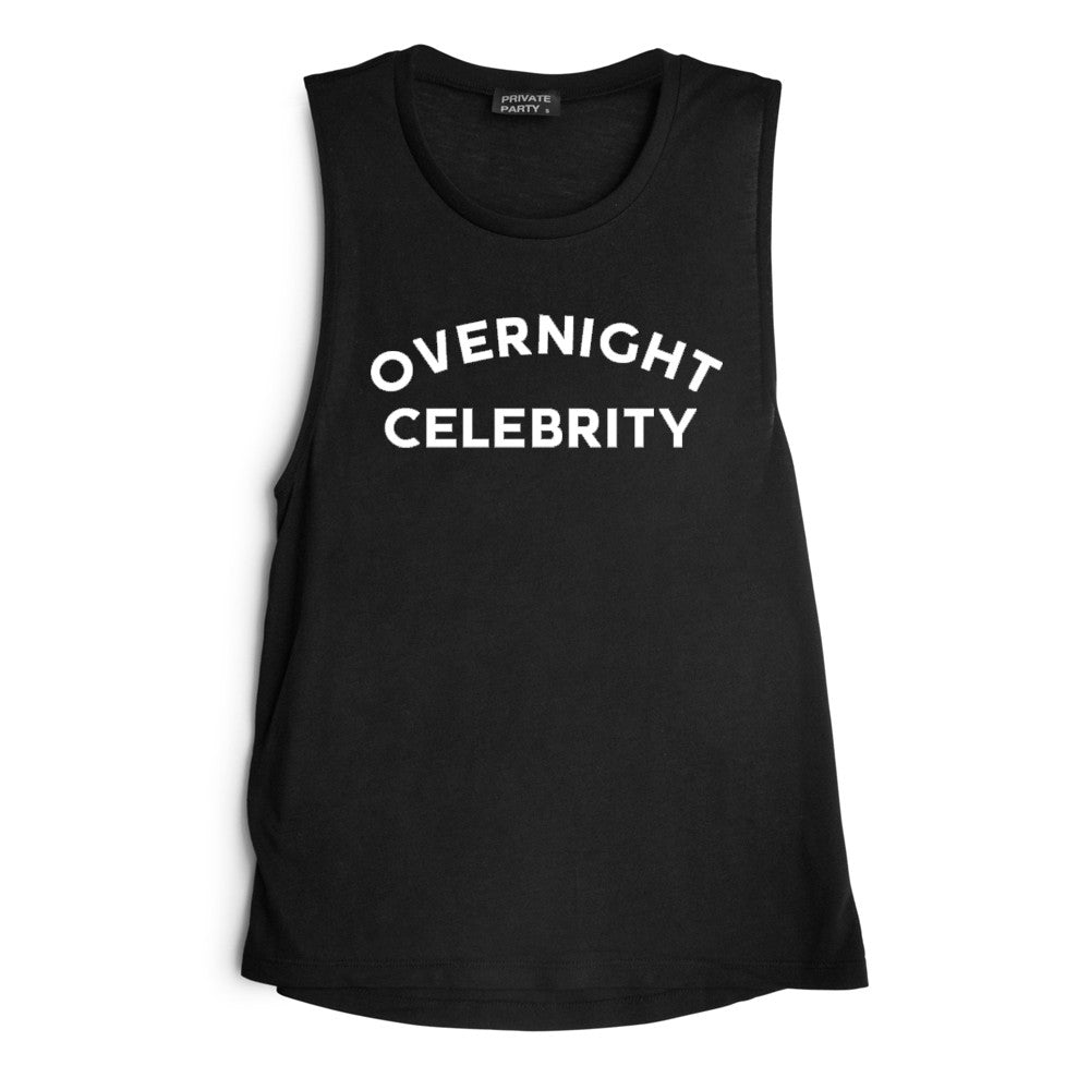 OVERNIGHT CELEBRITY [MUSCLE TANK]