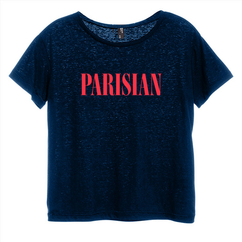 PARISIAN [DISTRESSED WOMEN'S 'BABY TEE']