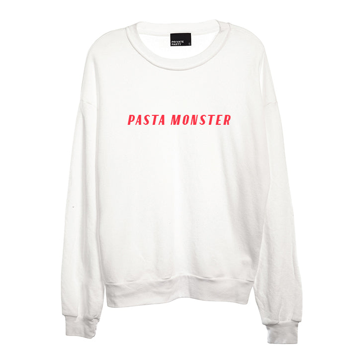 PASTA MONSTER [UNISEX CREWNECK SWEATSHIRT]