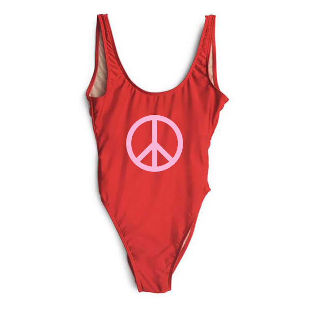 PEACE SYMBOL [SWIMSUIT]