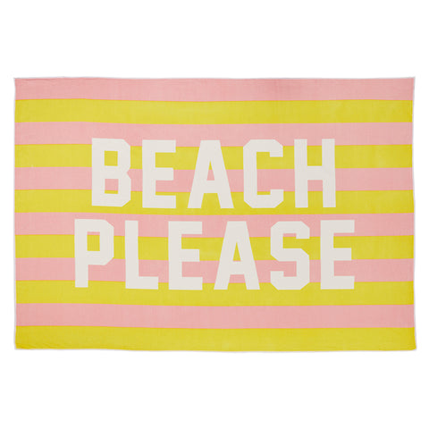 BEACH PLEASE [BEACH TOWEL]