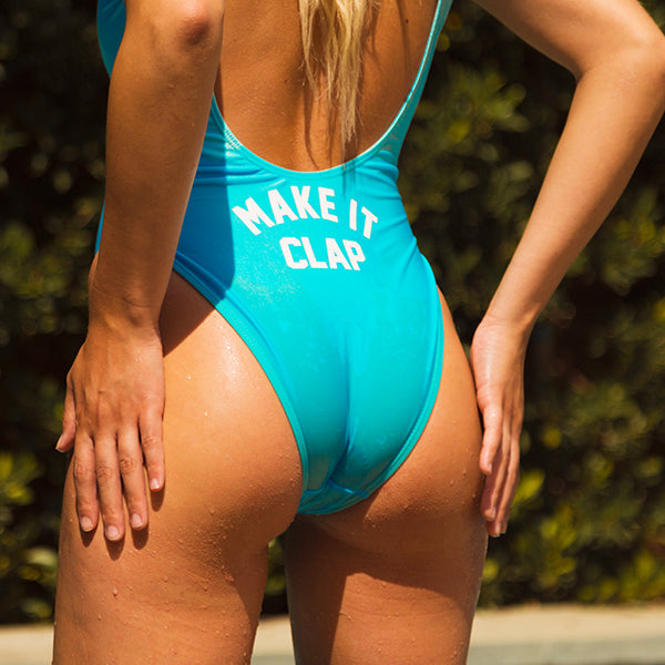 MAKE IT CLAP  // BUTT PRINT [SWIMSUIT]