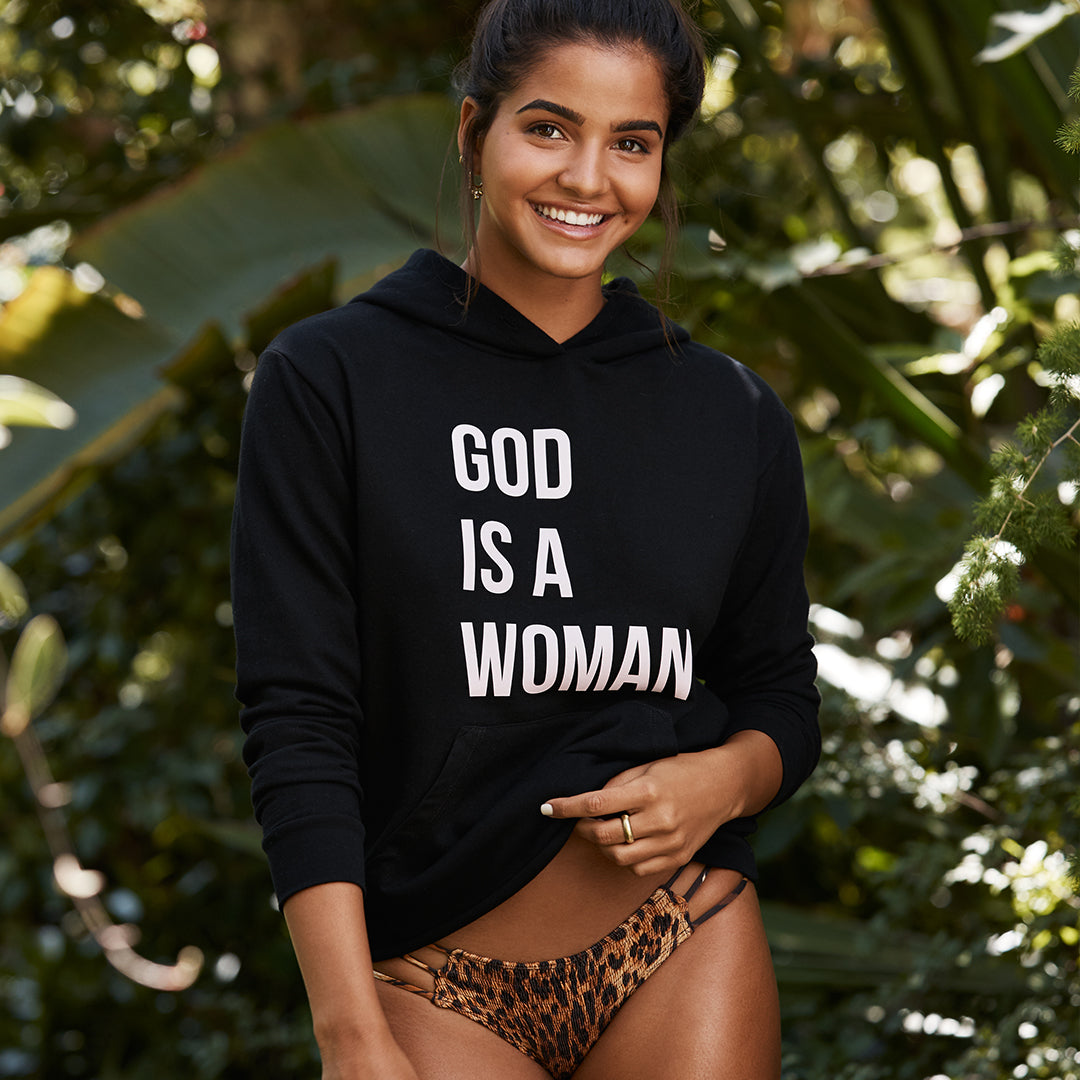 GOD IS A WOMAN [UNISEX HOODIE]