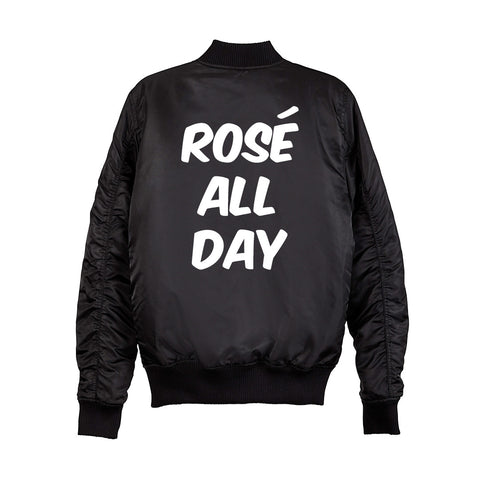 ROSÉ ALL DAY BOMBER [UNISEX]