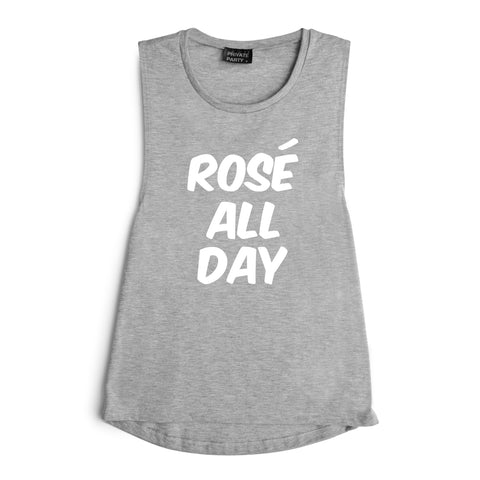 ROSE ALL DAY [MUSCLE TANK]