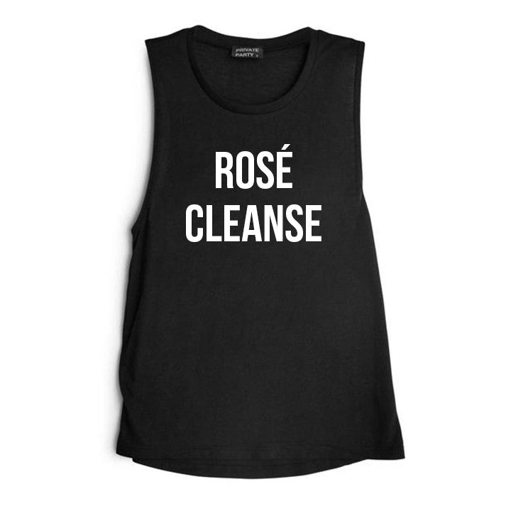 ROSÉ CLEANSE [WOMEN'S MUSCLE TANK]