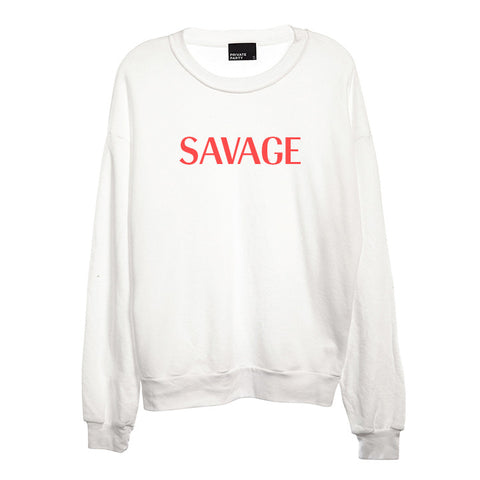 SAVAGE [UNISEX CREWNECK SWEATSHIRT]