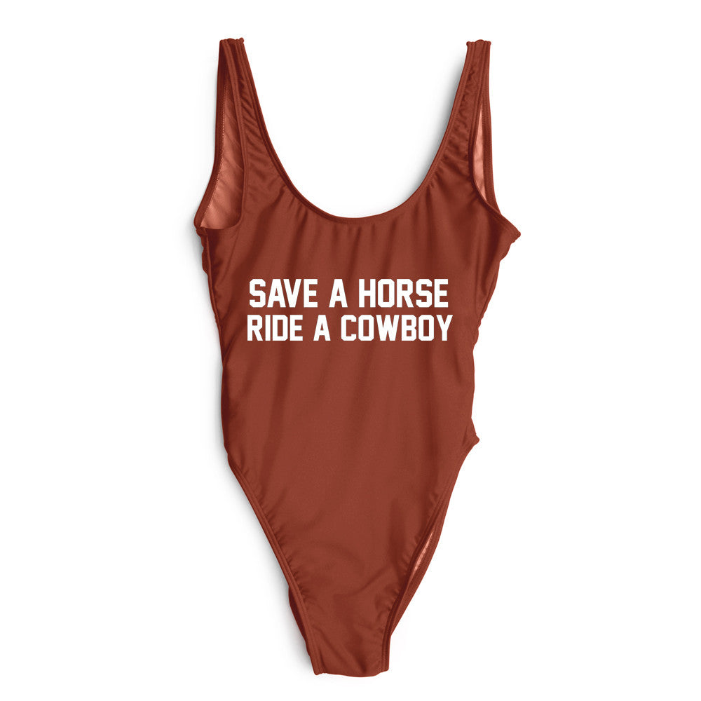 SAVE A HORSE RIDE A COWBOY [SWIMSUIT]