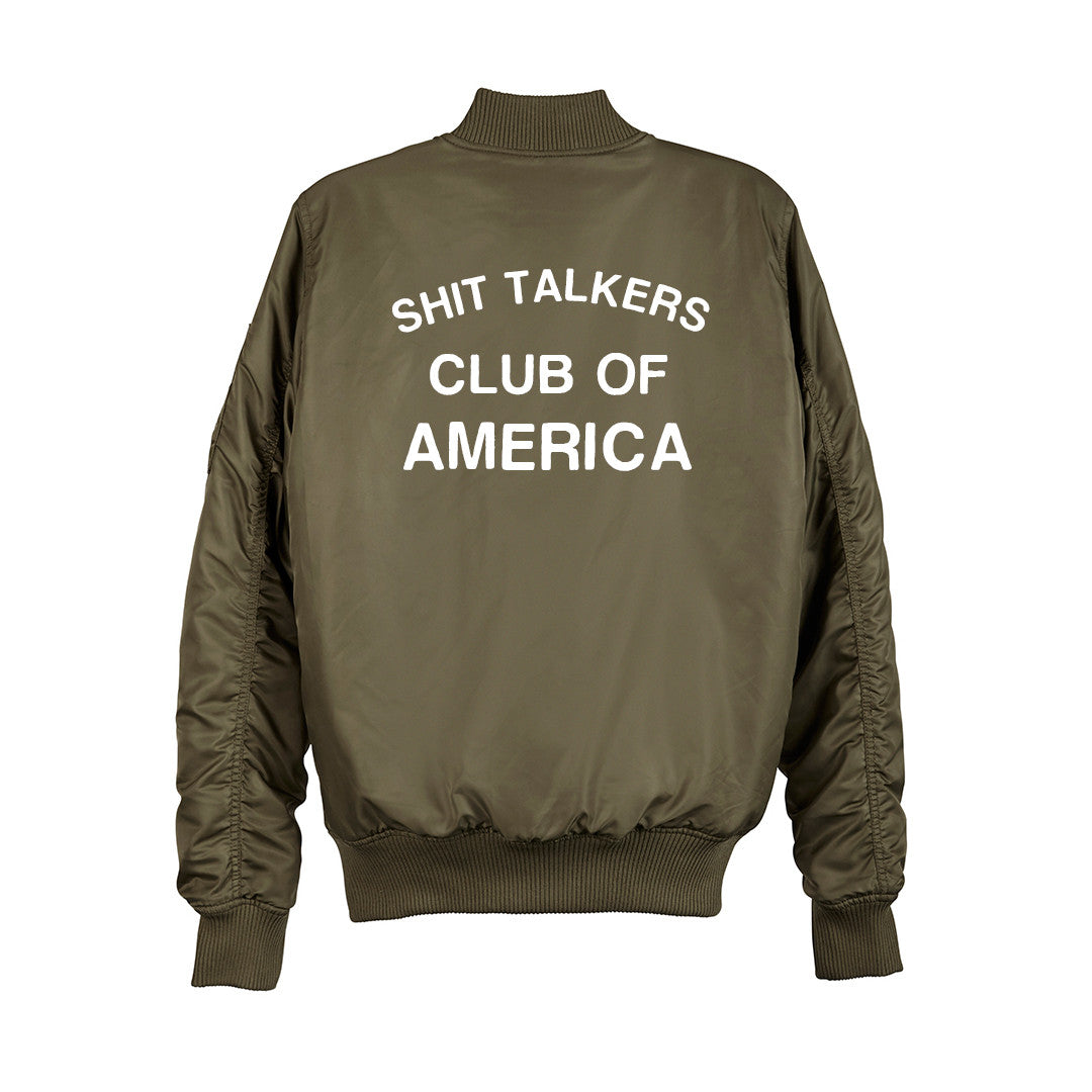 SHIT TALKERS CLUB OF AMERICA BOMBER [UNISEX]