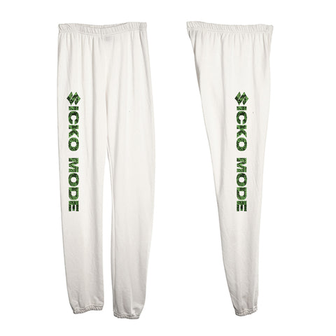 SICKO MODE W/ SNAKESKIN TEXT [WOMEN'S SWEATPANTS]