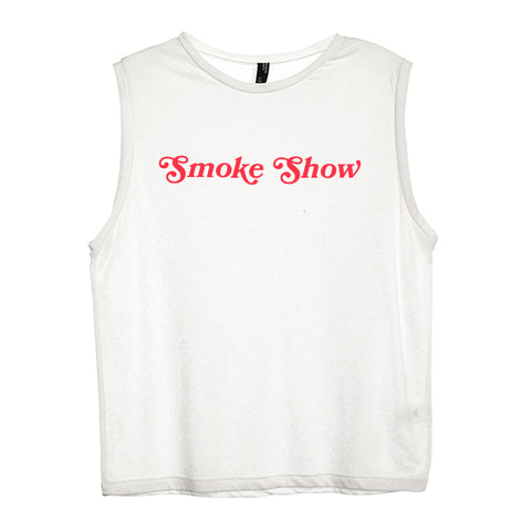 SMOKE SHOW [WOMEN'S MUSCLE TANK]