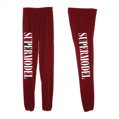 SUPERMODEL [WOMEN'S SWEATPANTS]