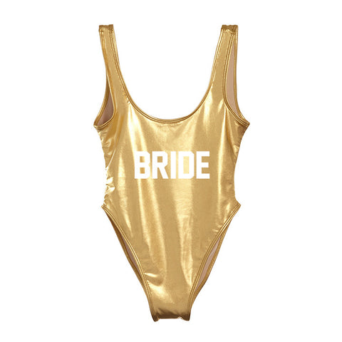 BRIDE [METALLIC SWIMSUIT]