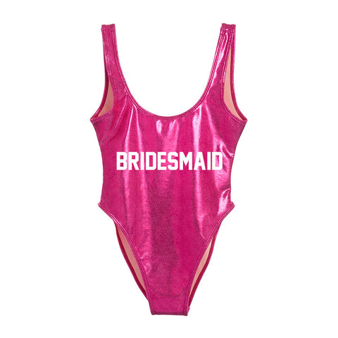 BRIDESMAID [METALLIC SWIMSUIT]
