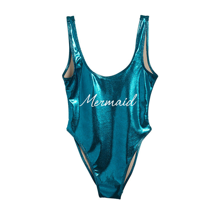 MERMAID [METALLIC SWIMSUIT]