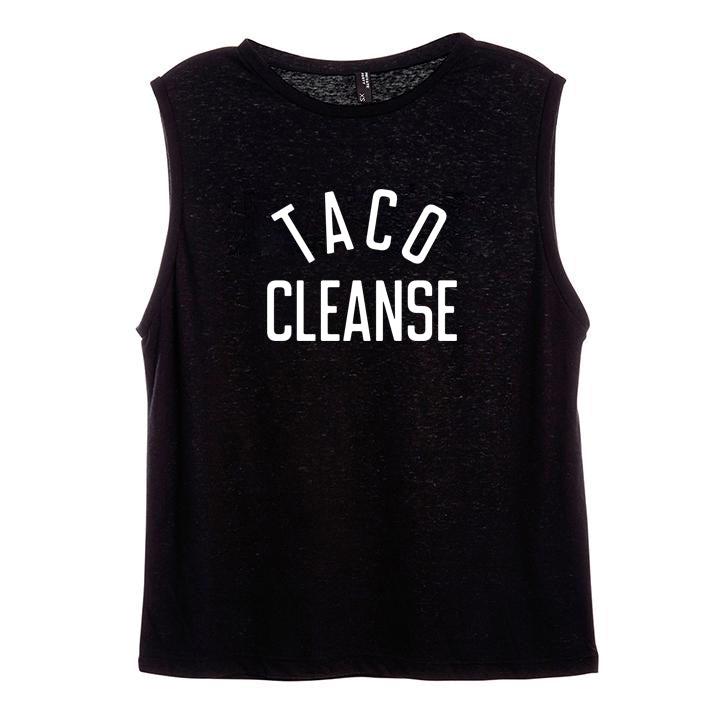 TACO CLEANSE [WOMEN'S MUSCLE TANK]