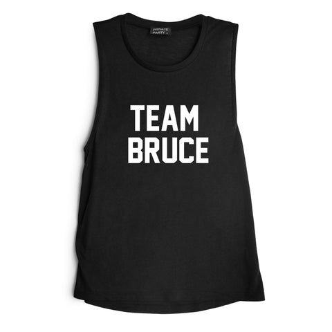 TEAM BRUCE  [MUSCLE TANK]